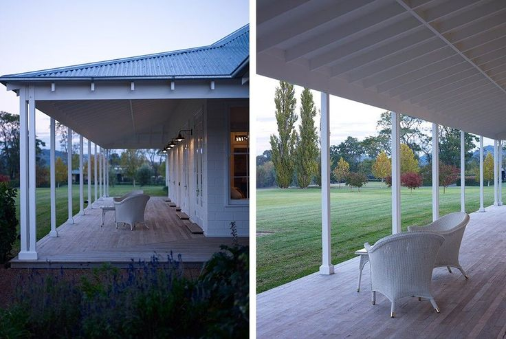 Scone Farmhouse, traditional Australian country farm house, Hunter Valley, verandah