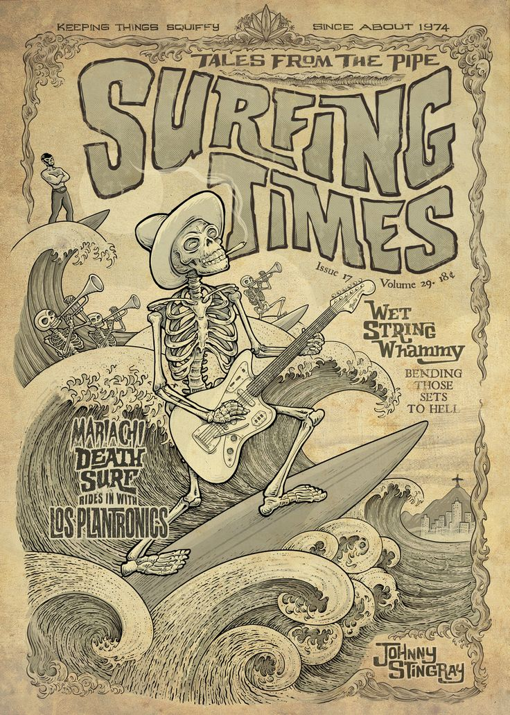 Surfing Times by johnnystingray on DeviantArt