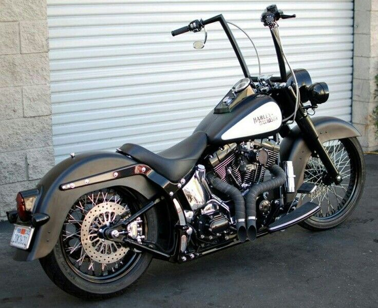 Harley Davidson. Softail. Ape Hanger