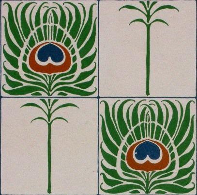 Wallpaper design   Silver Studio   1905   Museum Of Domestic Design & Architecture, Middlesex University   CC BY