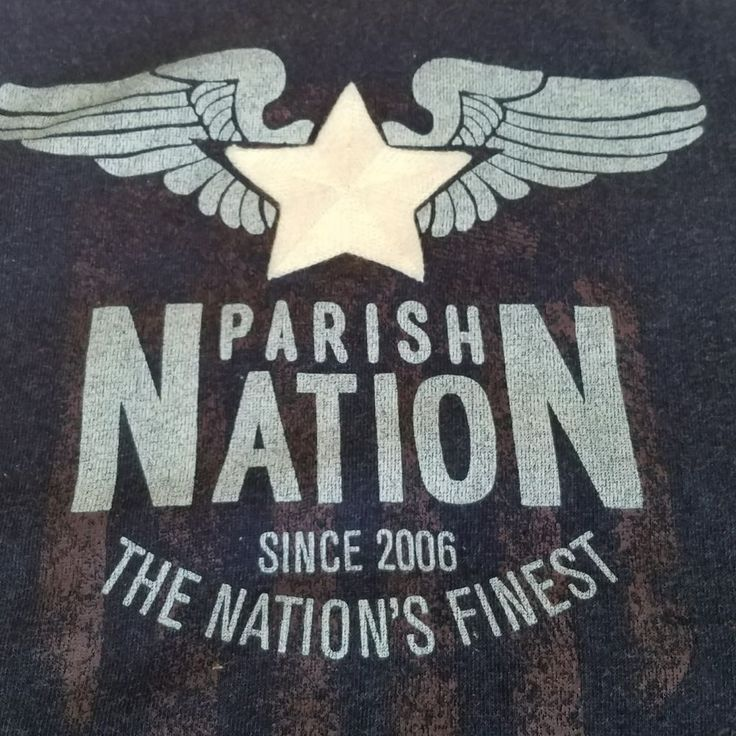 Parish Nation 5XL Long Sleeve Shirt The Nations Finest XXXXL | Clothing, Shoes & Accessories, Men's Clothing, Casual Shirts | eBay!