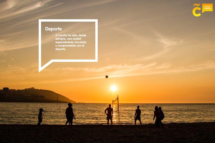 La actividad física y deportiva forman parte ineludible de nuestra vida ciudadana. Ven a descubrirlo bit.ly/guia_41_ac #visitacoruña
