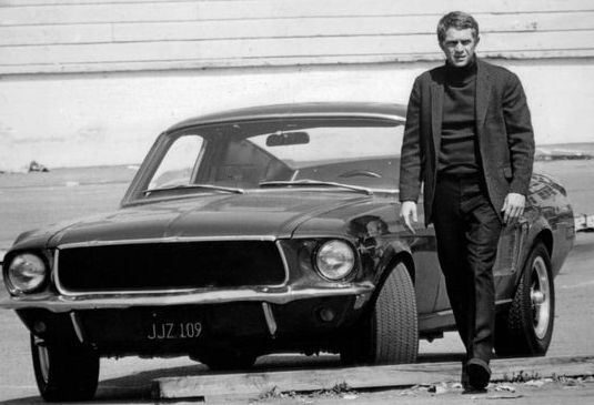 Steve McQueen and the Bullet Mustang GT