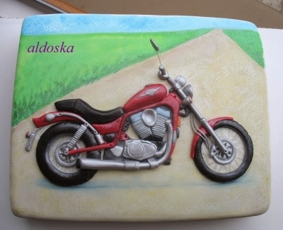 Chopper Suzuki By Aldoska On CakeCentral.com