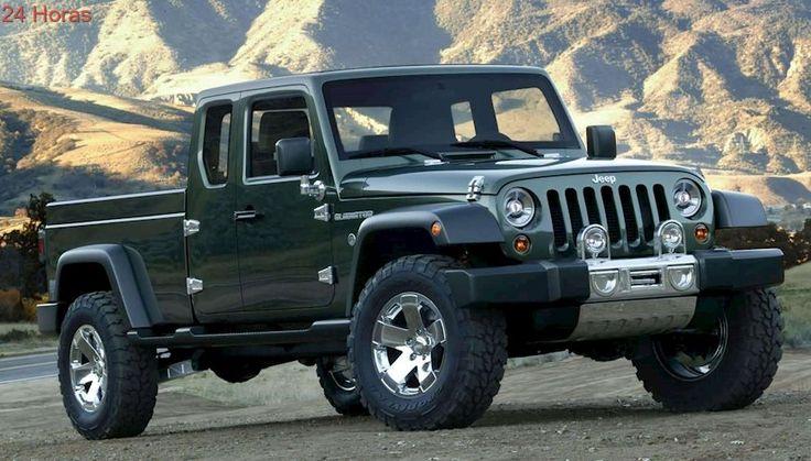 Jeep estaría preparando el lanzamiento de una pick up