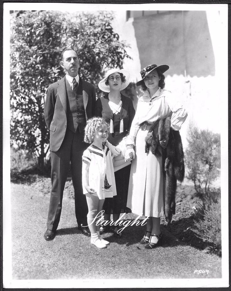 Shirley Temple at Fox Studios ORIGINAL 1930s Candid Promo Photo.