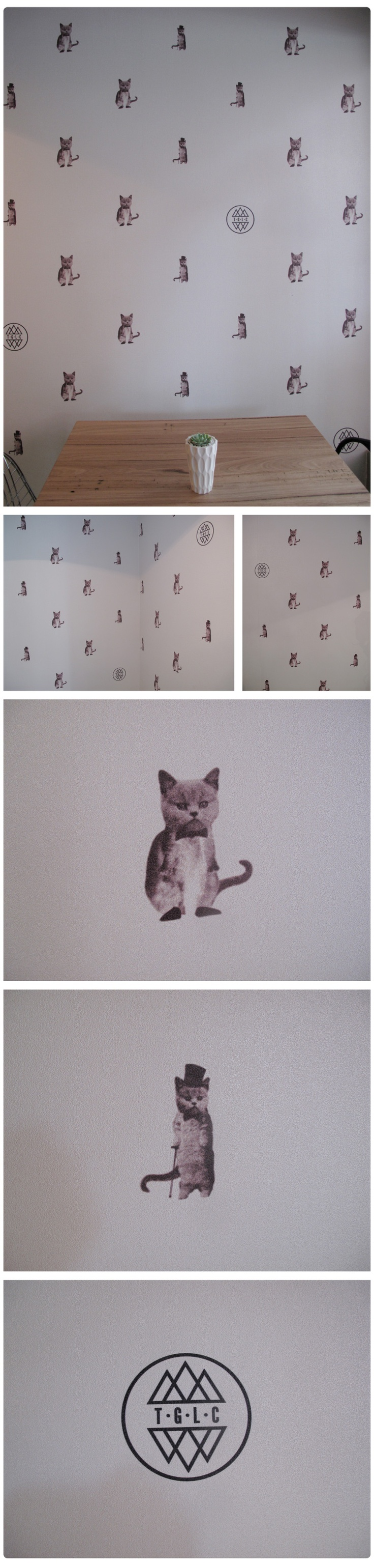 The Good Luck Club: love this wallpaper - pinned by http://www.auntbucky.com  #wallPaper #nursery #decor