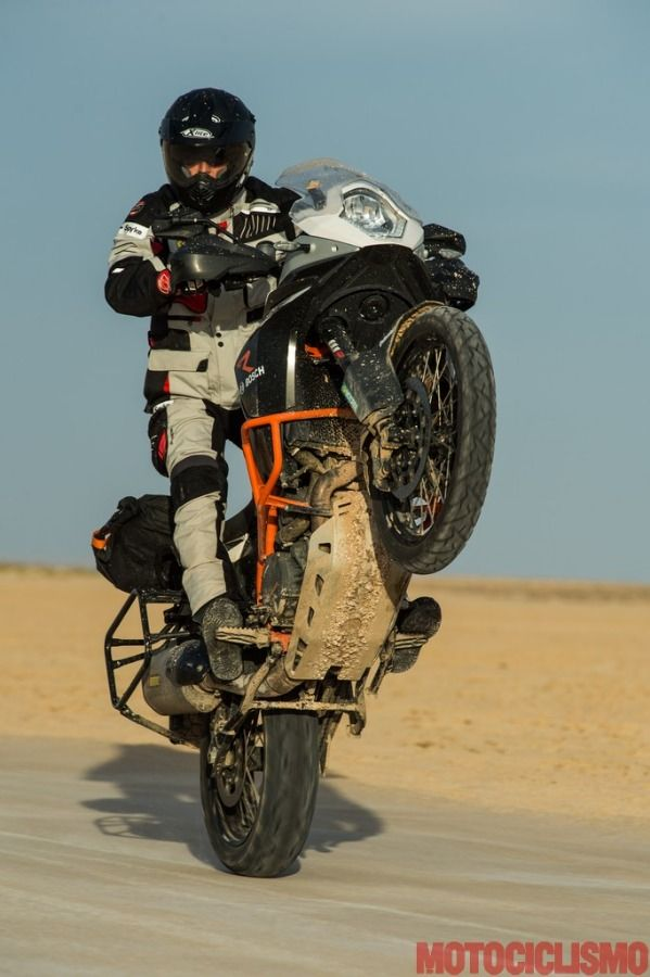 Ktm 1190 Adventure R. Big shoot in Tunis desert...