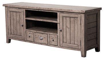Irish Coast TV Console 3 Drawer/2 Door - traditional - media storage - Masins Furniture