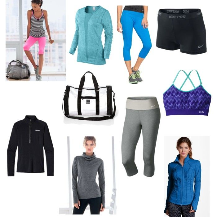 Cute workout gear (at all price ranges). I am always looking for modest clothes,