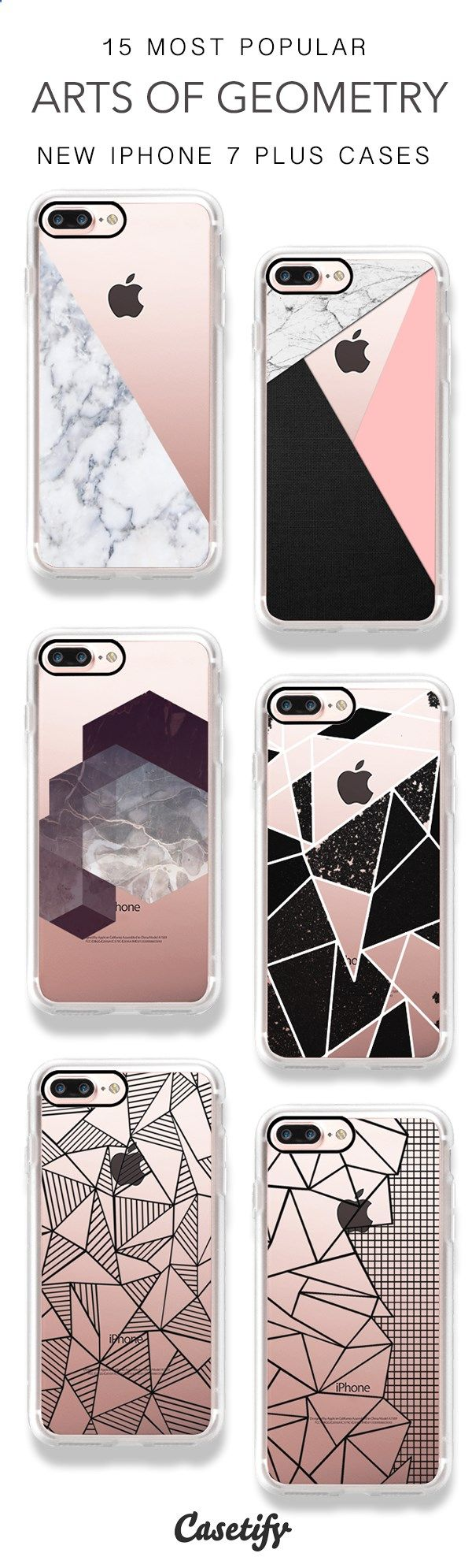 Phone Cases - Explore the Arts of Geometry! 15 Most Popular Marble & Grids iPhone 7 Cases and iPhone 7 Plus Cases here > www.casetify.com/...