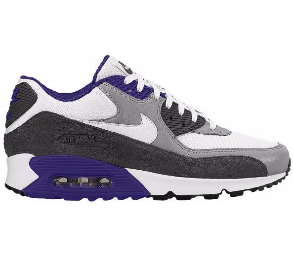 http://www.footlocker.com/product/model:148253/ · Nike Air Max MensAir Max  90KicksSharp Dressed ManWhite WhiteDark GreyTrainersFatherTennis Sneakers