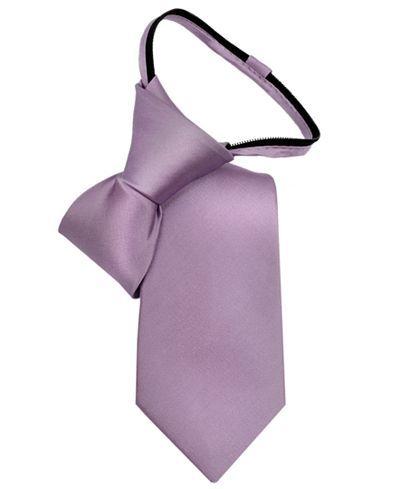 Calvin Klein Little Boys' Vellum Satin Zipper Tie - Accessories - Kids & Baby - Macy's