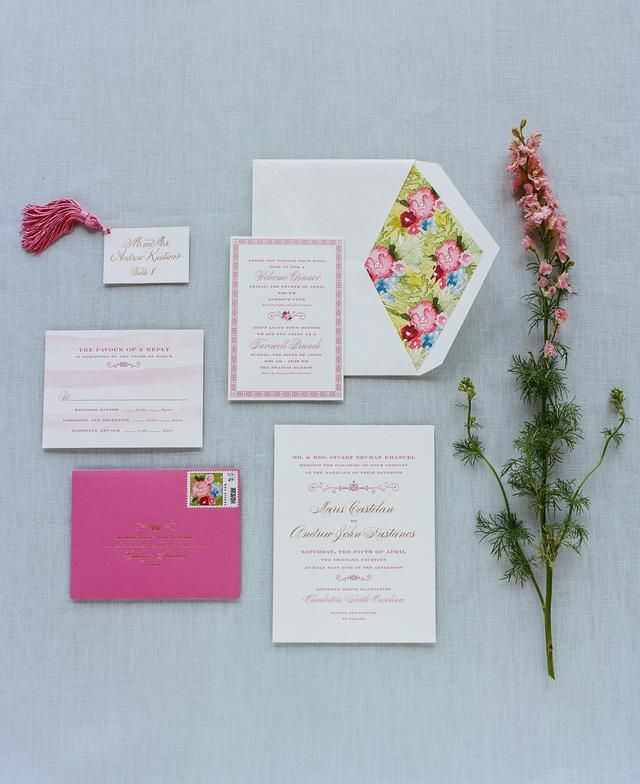 wedding invitationdesigns%0A raspberry and white stationary suite as featured on photo  design   Stationary