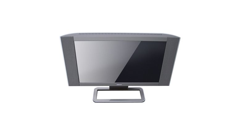 LCD-TV with integrated speakers for Medion. RED DOT DESIGN AWARD. 2005.