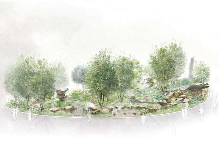Laurent Perrier Chatsworth Garden<br>Chelsea Flower Show 2015