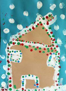 Art Room 104: Christmas Wrap Up: Kindergarten Projects