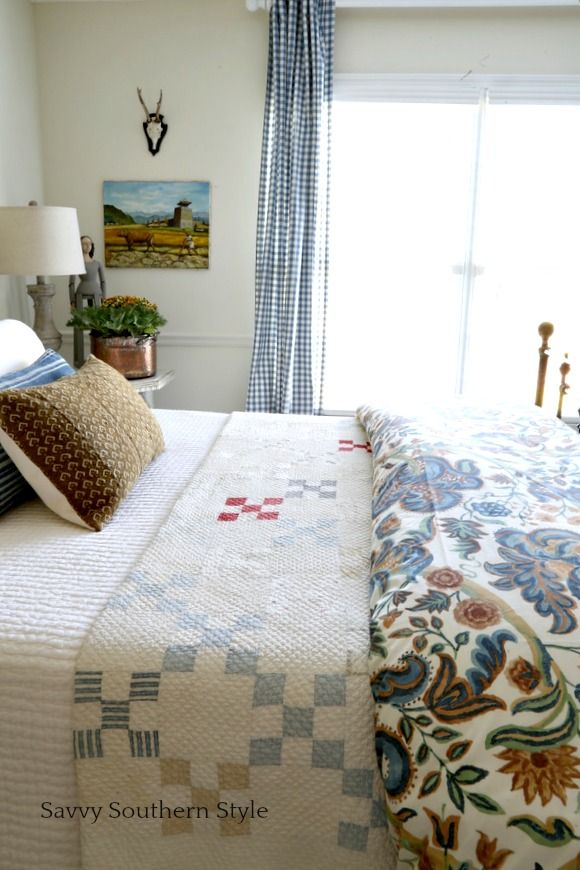 French Style Guest Bedroom for Fall 157