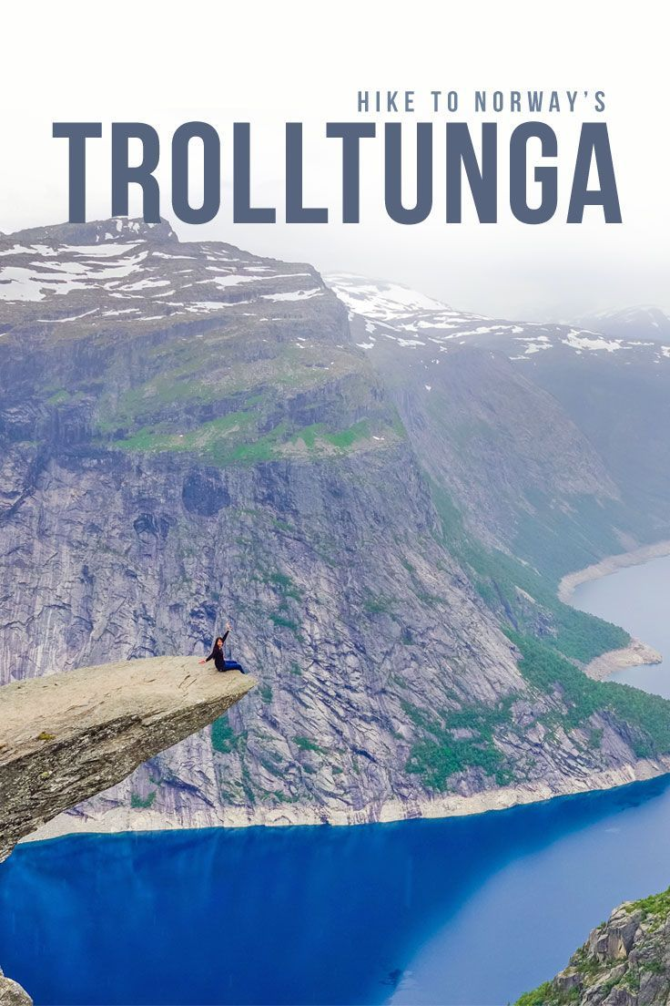 Looking to check Trolltunga off your bucket list? Read this hiking guide that has all the tips you'll ever need to conquer this famous hike in Norway!