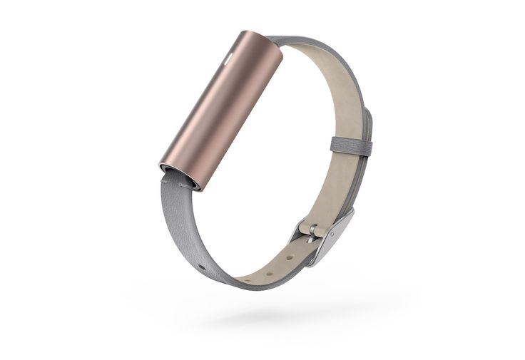 Misfit Ray™ Fitness Tracker in Leather Band (Rose Gold)