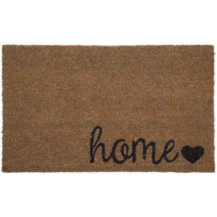 Home Heart Doormat In 2020 Door Mat Decorating On A Budget Decor