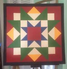 Image result for barn quilt patterns to paint sawtooth star