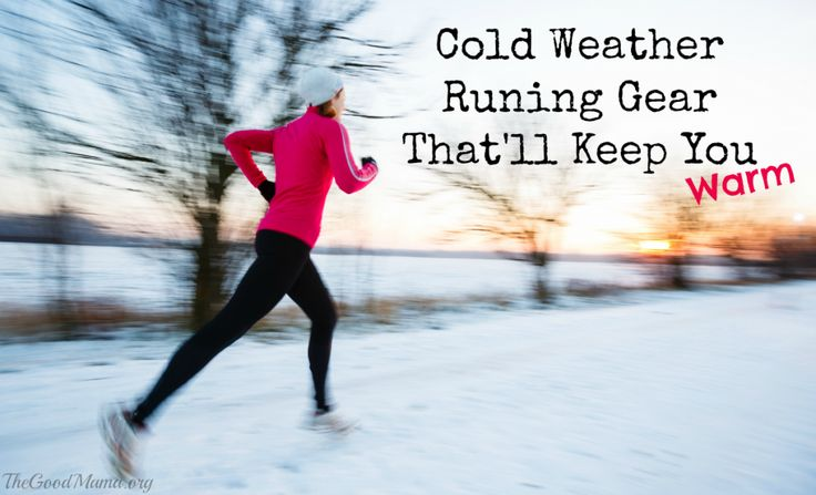 Cold Weather Running Gear that'll Keep you Warm
