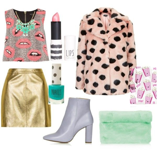 Untitled #4 by sarahohbaby on Polyvore featuring River Island, Topshop and Kate Spade