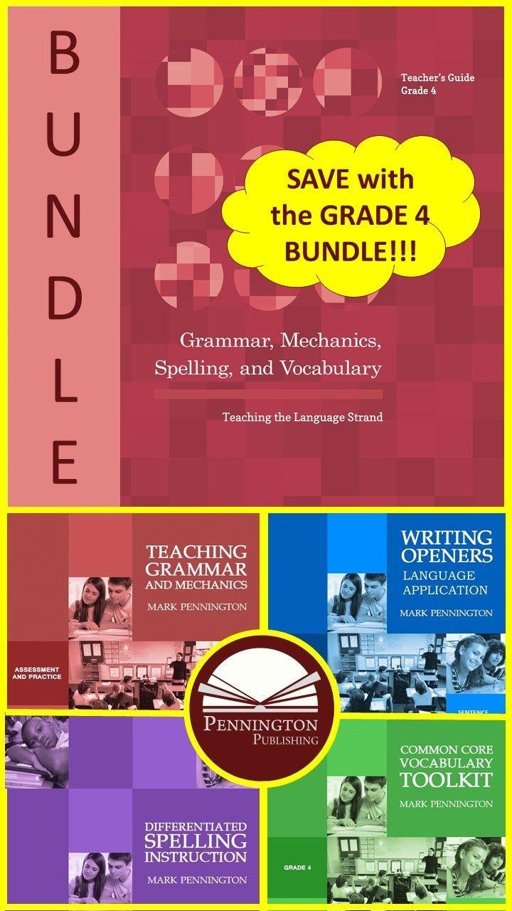 Grammar Mechanics Spelling And Vocabulary Grades 4 5 6 7 And 8 Bundles Spelling Instruction Grammar Differentiated Spelling [ 1280 x 720 Pixel ]