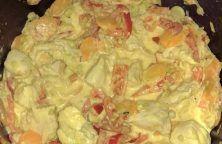 Sauté de poulet sauce coco