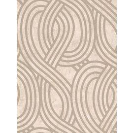 Tesco direct: Carat Geometric Glitter Wallpaper - Gold and Beige - 13345-10