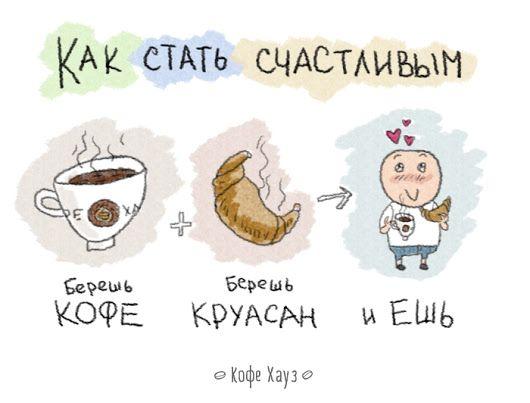 #кофе #утро #понедельник #счастье - Сеть кофеен «Кофе Хауз» - Google+