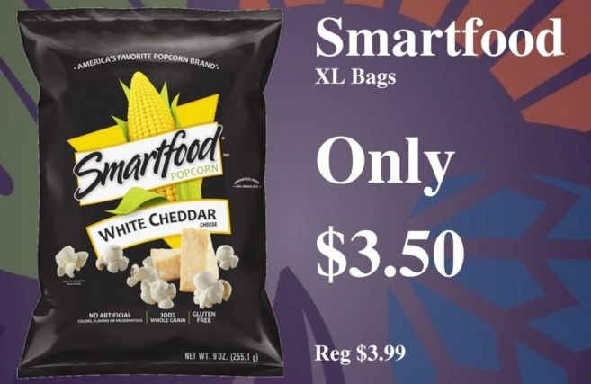 Smartfood Popcorn Savings Seasons Corner Market