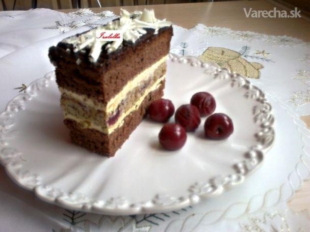 Višňovo-orechové rezy (fotorecept)