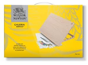 Winsor & Newton Galeria Acrylic Colour A2 Easel Set