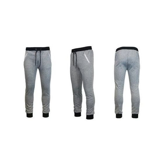 Men's Galaxy By Harvic Slim-Fit Joggers with Zipper Pockets