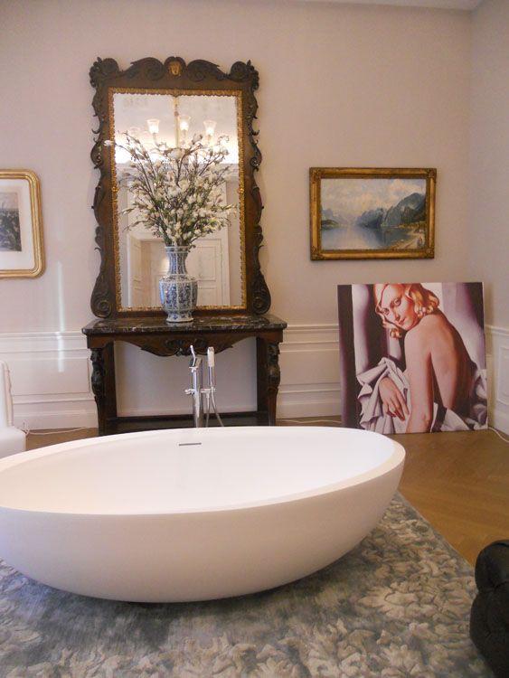 I Bordi #Bathtub at Palazzo Parigi #Milan - A  wonderful setting for a #masterpiece. #Autoritratti