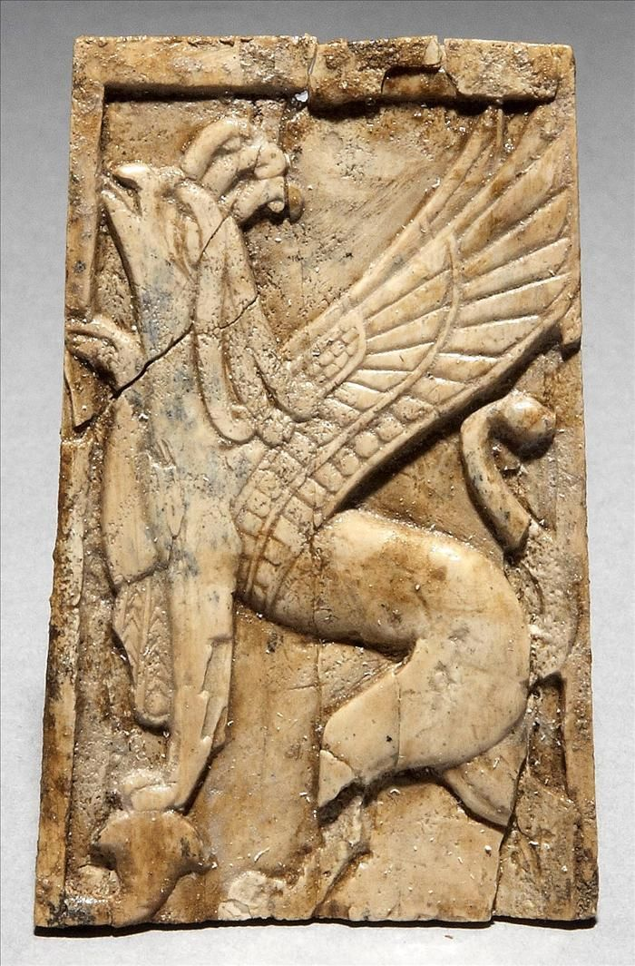 Marfil asirio de Nemrud 510 best Mesopotamia