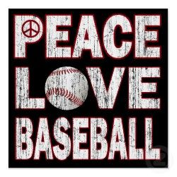 Peace. Love. Baseball.
