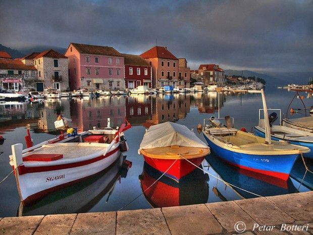 Dock at Stari Grad, Hvar, Croatia 12 Breathtaking Photos taken at Islands of Croatia by Petar Botteri