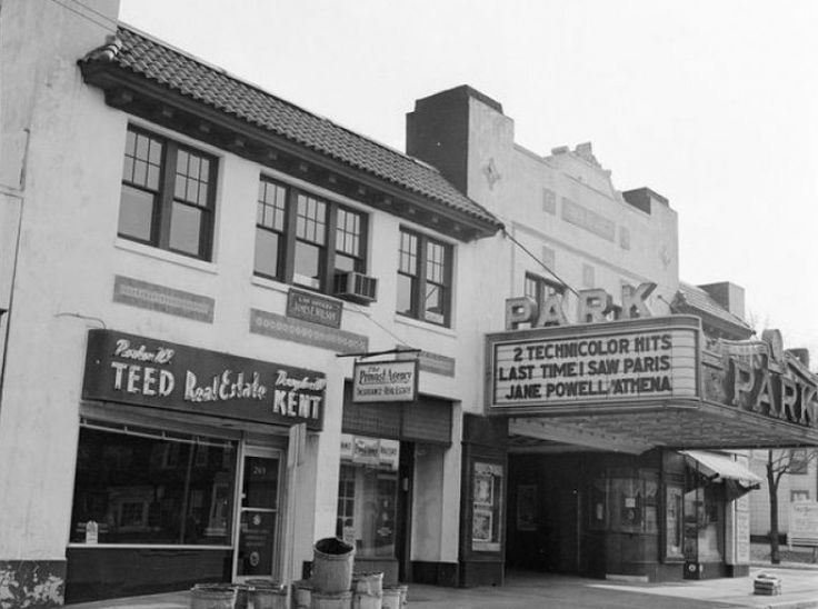 Park Theater In Caldwell Nj 1960 S Vintage Essex County