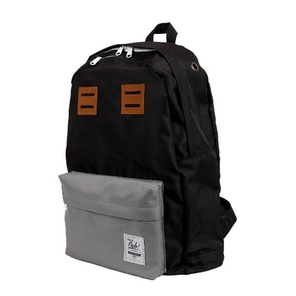 Our Backpack Bag GREY BLACK, for your daily or traveling needs...  Dimension: 50 cm x 30 cm x 12 cm Material: High Quality Cordura