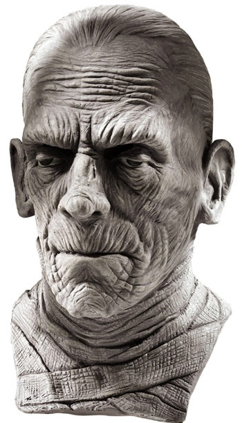 Universal Monsters masks........even if you dont have the mask great for creating your own make-up ideas..