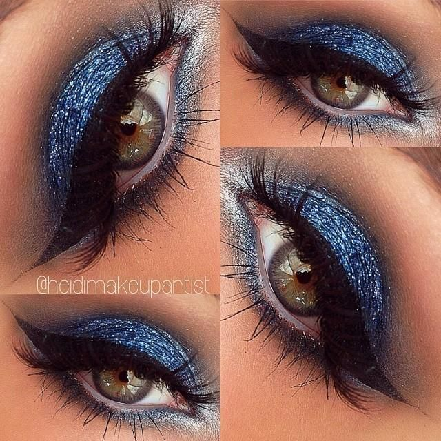 Blue Glitter Eyeshadow. | Everything in 2019 | Beauty ...