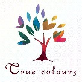 True colours tree logo