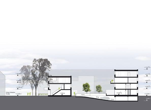 die besten 25 architekturb ro k ln ideen auf pinterest. Black Bedroom Furniture Sets. Home Design Ideas