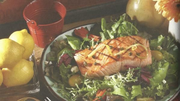 SALMON SALAD -- If you remember the Supremes, does that mean your old? This recipe is from the group's Mary WIlson. -- This is basically a leftover salmon recipe.
