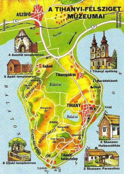 La peninsula Tihany