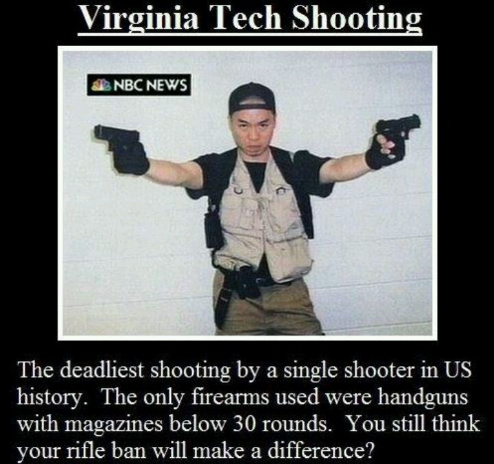 The Damned Shooter Was A Liberal Democrat! Disarm All
