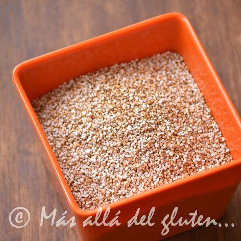 Más allá del gluten...: Amaranto Soplado Casero (Receta GFCFSF, Vegana)